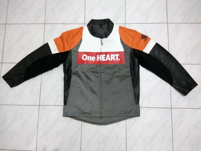 JAKET KULIT HONDA ONE HEART MM93 Jasa Install JAKET KULIT HONDA ONE HEART MM93