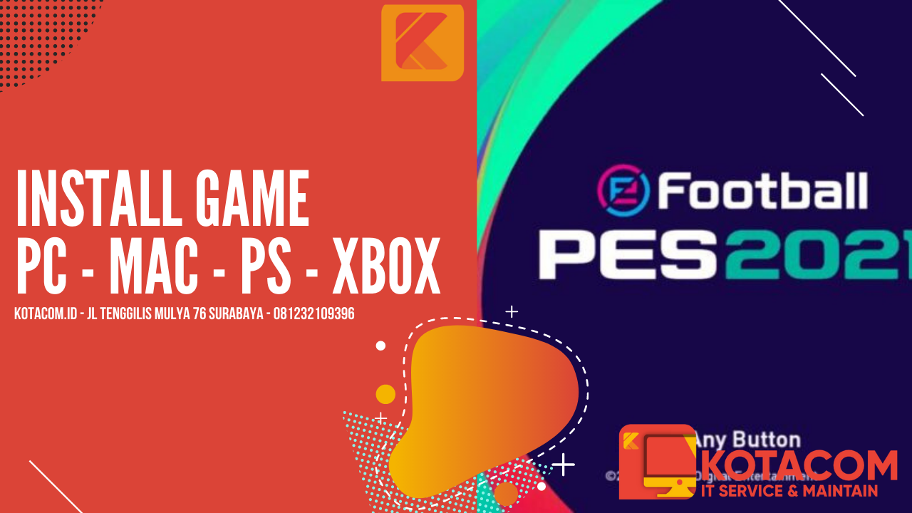 Jasa Install Pes 2021 Efootball (sharing Account)